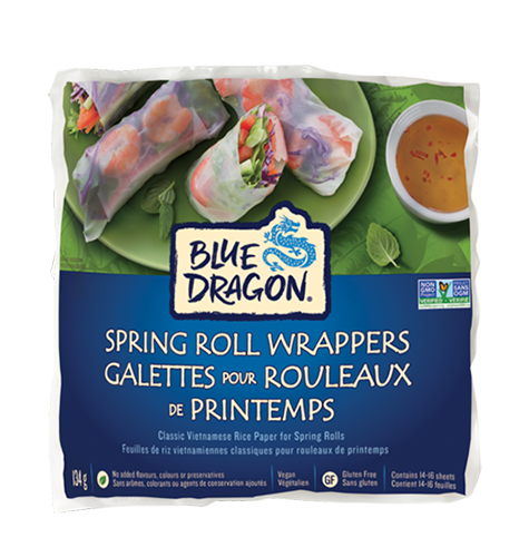 Spring Roll Wrappers Blue Dragon